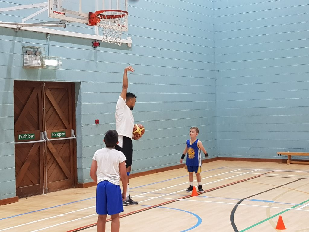 basketball holiday camp and half term activities in Bognor